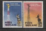 VATICAN 1959 – RADIO SANTA MARIA DI GALERIA, serie nestampilata, B4