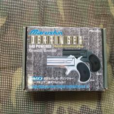Pistol Derringer Green Gas - Arma Airsoft