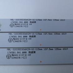 Barete LED MBL-32035D306KZA-V1-115MM  Din Hisense LHD32D33S