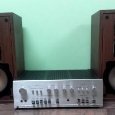 Amplificator Dual 1400+boxe Videoton DC2002