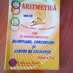 Culegere pentru olimpiada la matematica clasa V - Manual scolar teora, Clasa 5