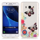 Husa Samsung Galaxy J5 2016 - Gel TPU Butterfly and Flower