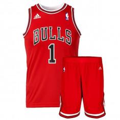 Trening Adidas NBA Chicago Bulls Cod:Z23956 - Produs Original, cu factura - NEW!, M, Poliester