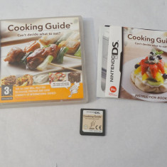 Joc consola Nintendo DS 2DS 3DS - Cooking Guide Can't decide what to eat?, Actiune, Toate varstele, Single player