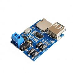 Modul decodor MP3 / WAV cu card microSD si USB (v.22)