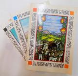 STUDIU ISTORICO - ETNOGRAFIC COMPARATIV , VOL. I - III , NUNTA LA ROMANI / NASTEREA LA ROMANI / INMORMANTAREA LA ROMANI de S. FL. MARIAN , 1995