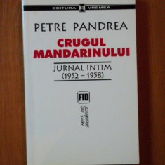CRUGUL MANDARINULUI JURNAL INTIM ( 1952 - 1958 ) de PETRE PANDREA - Carte Istorie