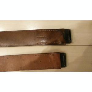Centura militara  RPR ani 50/60  cu pafta RPR (stocuri)