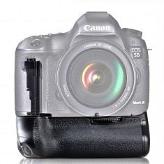 Grip compatibil cu Canon 5D Mark III 5D3 5DS 5DSR