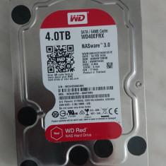 Hard Disk WD RED 4Tb WD40EFRX NASware 3.0, Western Digital