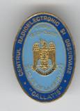 CENTRUL RADIOELECTRONIC  1972 - 2002 - Insigna TRANSMISIUNI MILITARE email  RARA