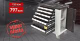 Dulap metalic pentru scule 6 sertare, neechipat