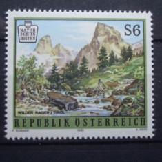 Austria 1993 - PEISAJ MONTAN LA TIROL, timbru nestampilat B8