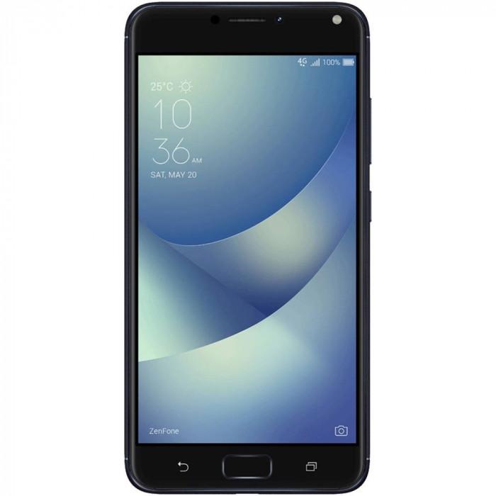 Smartphone Asus Zenfone 4 Max Pro ZC554KL 32GB 4GB RAM Dual Sim 4G Black foto mare