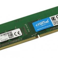 Memorie Crucial DDR4 8Gb 2400Mhz, cod: ct8g4dfs824a 1.2V, CL17 Desktop - Noua - Memorie RAM Crucial, Peste 2000 mhz