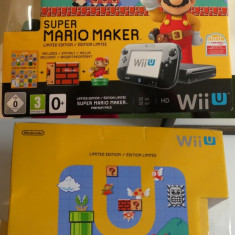 Consola Nintendo Wii U Super Mario Maker Deluxe Set 2018