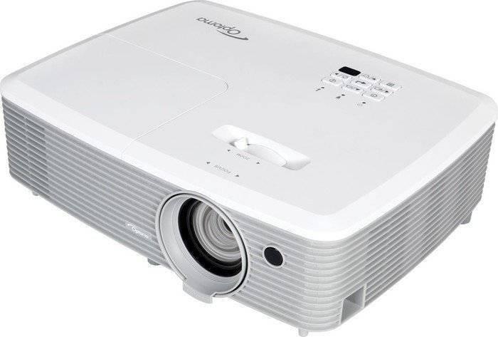 Videoproiector Optoma W400 WXGA DLP Alb foto mare
