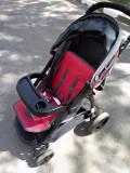 Carucior bebe, Gri, Baby Design