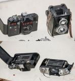 Piese aparate foto Zenit, Lubitel.