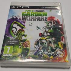 Plants vs Zombies - Garden Warfare PS3 / Joc PS3 NOU, SIGILAT - Jocuri PS3 Ea Games