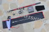 Lanseta FL Silver Hawk 3.8 Metri Mini River Trout Rau + Mulineta Mica Zfa 800, Lansete Bologneze, 3.9