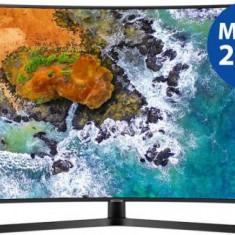 Televizor LED Samsung UE49NU7502, 125 cm (49inch), Ultra HD 4K, Smart TV, Ecran curbat, WiFi, CI+