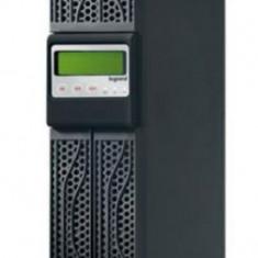 UPS Legrand Keor Line RT, 3000VA/2700W, 8 x IEC C13, 1 X IEC C19, Management (Negru)