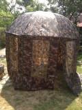 Umbrela Pescuit Tip Shelter 2.5m Inchidere Totala Si Ferestre