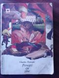 Povesti cu zane - CHARLES  PERRAULT, Charles Perrault