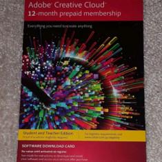 Adobe CC creative cloud platit in avans pe 12 luni (include Photoshop) - Software Grafica