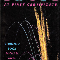 Excel At First Certificate Student's Book