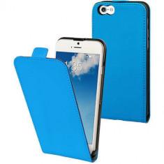 Husa Flip Cover Muvit 98766 Slim albastra pentru Apple iPhone 6