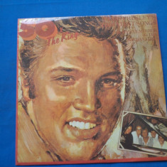 ELVIS PRESLEY  /50 X THE KING -ROCK AND ROL, VINIL, electrecord
