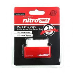 Chip tuning nitro OBD2 pentru masini diesel (crestere putere motor), Universal