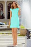 Rochie verde mint lejera