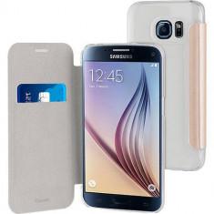 Husa Flip Cover Muvit MUEAF0219 Folio Gold pentru Samsung Galaxy S7