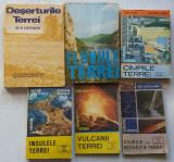 Deserturile, Fluviile, Campiile, Insulele, Vulcanii, Si Raurile Terrei - 6 Carti
