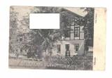 CP Valcele -Vila Union, interbelica, animata, necirculata, Fotografie