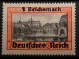 """Timbre 1939 Germania Danzig Postage Stamps Overprinted """"Rpf Deutsches Reich Rpf"""", Nestampilat"""