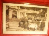 Ilustrata Sinaia- Terasele Castelului Peles circulat 1937