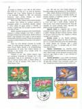 2010 - gradina botanica, carton filatelic