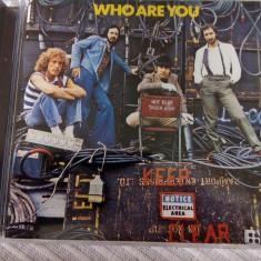 CD The Who - Who Are You original - Muzica Drum and Bass Polydor