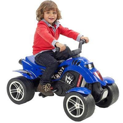 Jucarie Falk ATV cu Pedale Quad Pirate Albastru