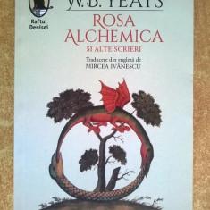 W. B. Yeats - Rosa alchemica si alte scrieri - Carte poezie