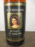 N. 105 vin ROZE' la fornarina, , recoltare 1978, cl 75 gr 12, Sec, Europa