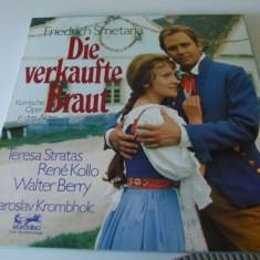 Die Verkaufte Braut - Smetana - 3 vinyl, VINIL