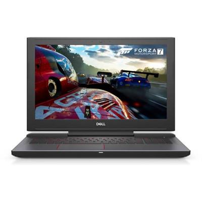 Laptop Dell Inspiron 7577 15.6 inch FHD Intel Core i7-7700HQ 8GB DDR4 1TB HDD 128GB SSD nVidia GeForce GTX 1050 4GB FPR Windows 10 Home Black foto