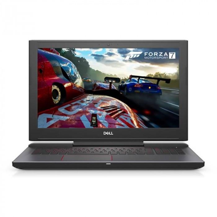 Laptop Dell Inspiron 7577 15.6 inch FHD Intel Core i7-7700HQ 8GB DDR4 1TB HDD 128GB SSD nVidia GeForce GTX 1050 4GB FPR Windows 10 Home Black foto mare