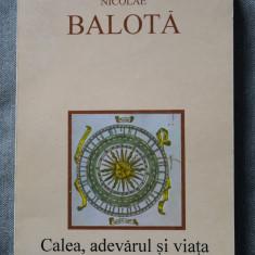 Nicolae Balotă - Calea, adevărul și viața. Meditații religioase