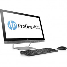 Sistem All in One HP ProOne 440 G3 23 inch FHD Intel Core i5-7500T 4GB DDR4 256GB SSD Windows 10 Pro Silver